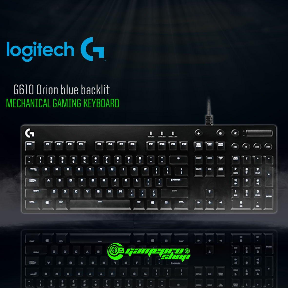 cd15c8fb4d1 Logitech G610 (920-008005) Orion blue backlit Mechanical Gaming ...