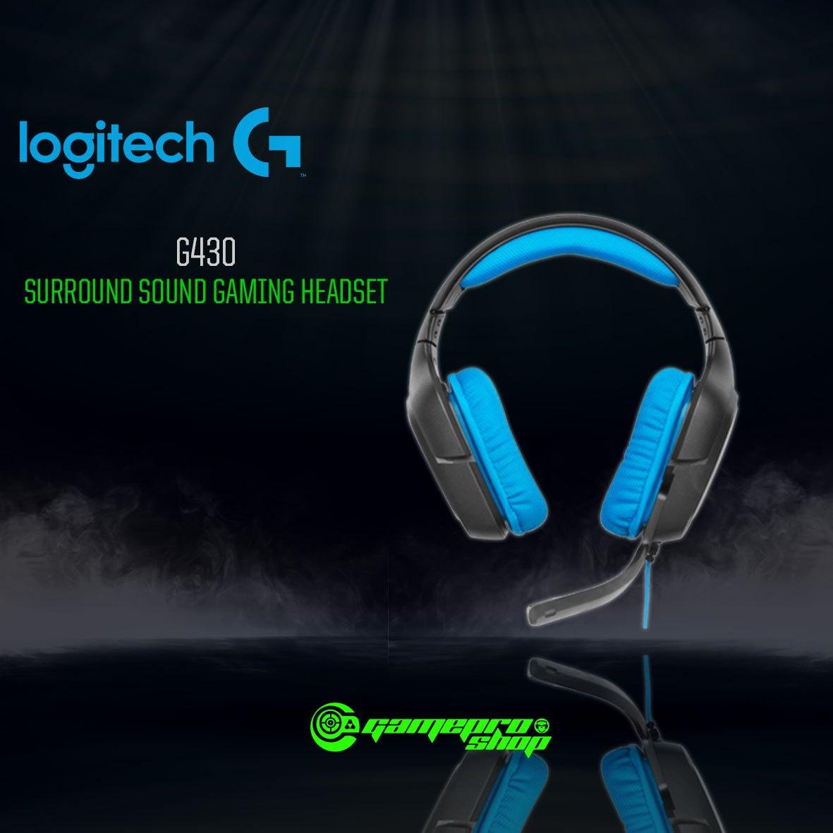 a96f75077ba Logitech G430 (981-000538) Digital Gaming Headset - GamePro Shop