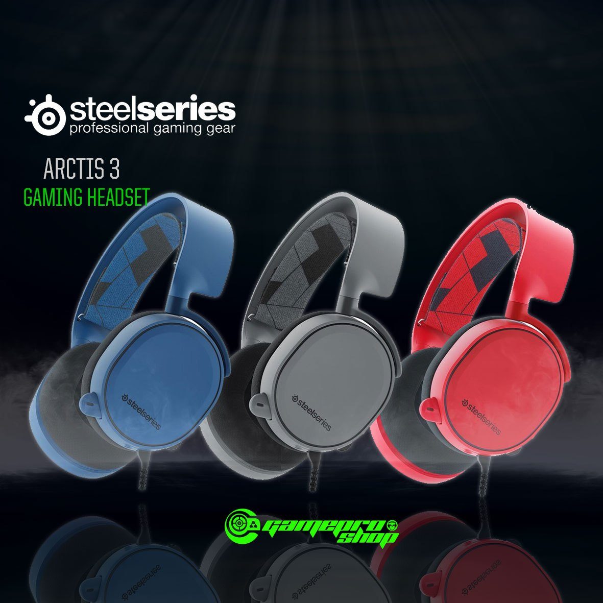 steelseries arctis 3 analog gaming headset 7 1 surround. Black Bedroom Furniture Sets. Home Design Ideas
