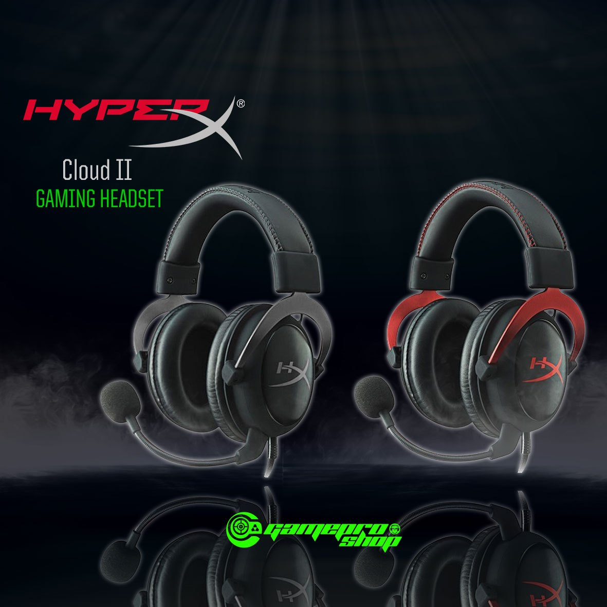 HomeGaming AccessoriesGaming HeadsetHyperX Cloud II Gaming Headset. 🔍.  Gaming Headset e9045b5076