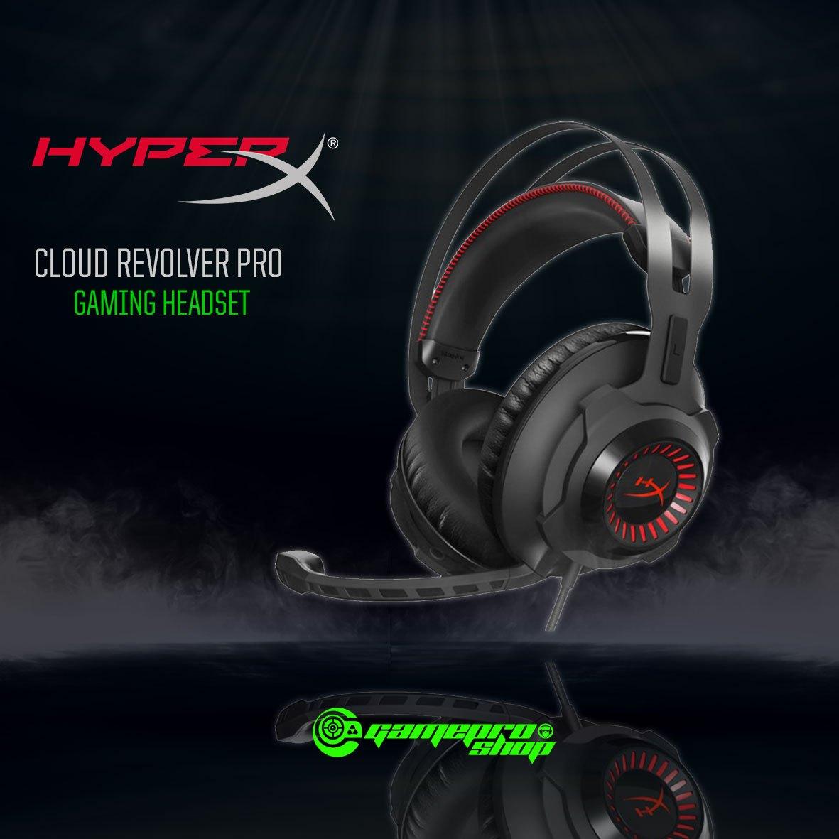 sale retailer 03e85 a04aa HyperX Cloud REVOLVER PRO Gaming Headset (KHX-HSCR-BK AS) - GamePro Shop