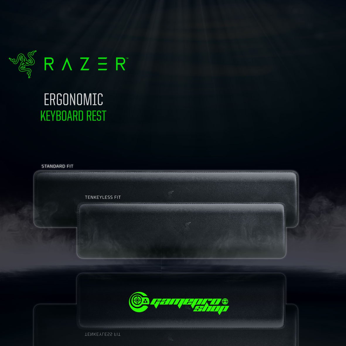 f2ac5decd5a Razer Ergonomic Keyboard Rest - FRML Packaging - GamePro Shop