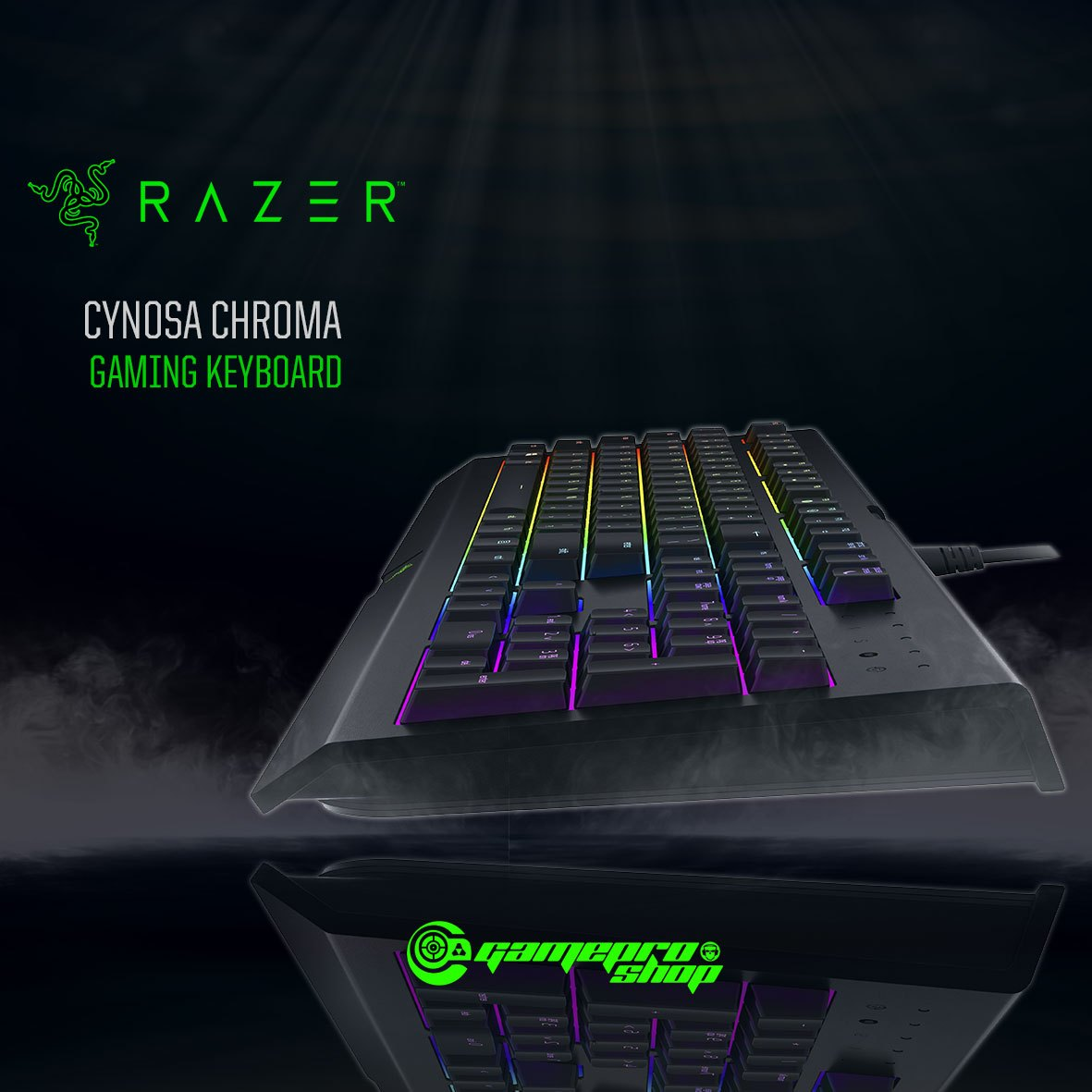 Razer Cynosa Chroma Multi-Color Gaming Keyboard (RZ03-02260100-R3M1)