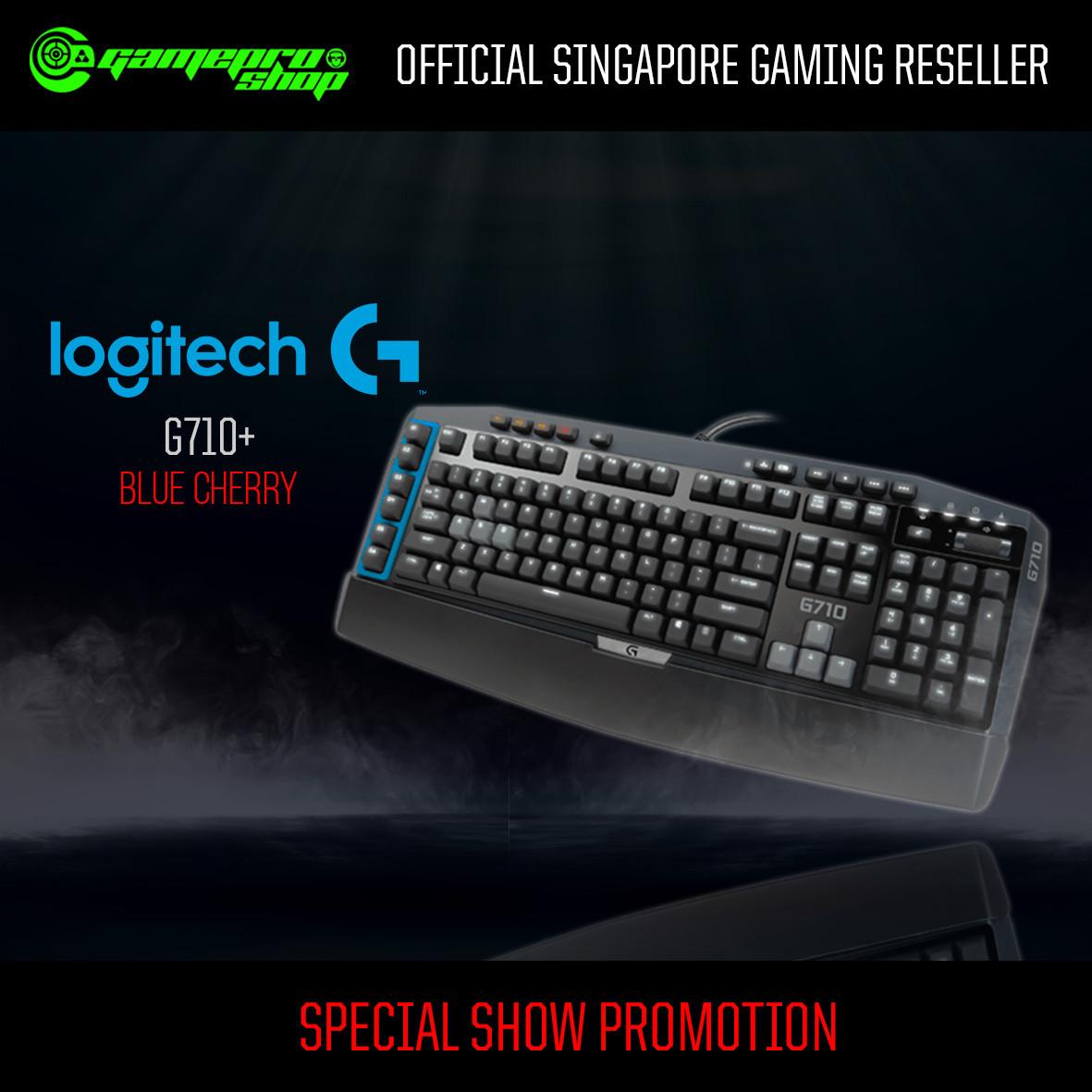 Logitech G710 Mechanical Gaming Keyboard Blue Cherry Switch 920 G413 Carbon Backlit