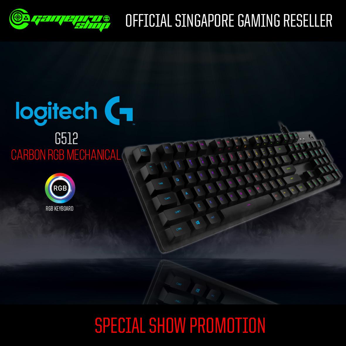 Logitech G512 Carbon RGB Gaming Gaming Keyboard