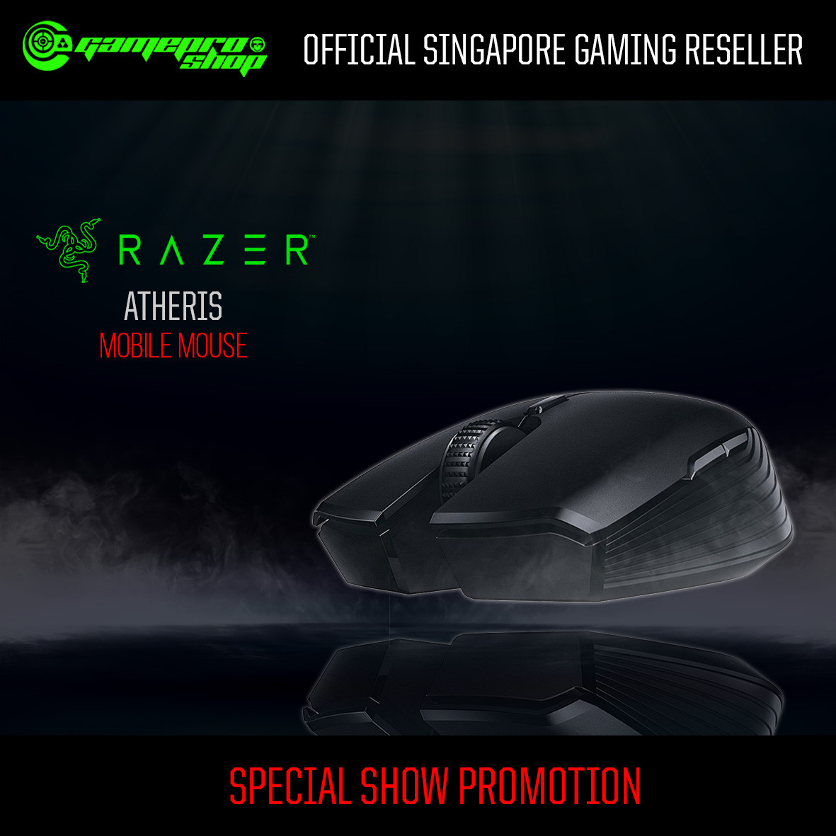 Razer Atheris - Mobile Mouse - AP Packaging (RZ01-02170100-R3A1)