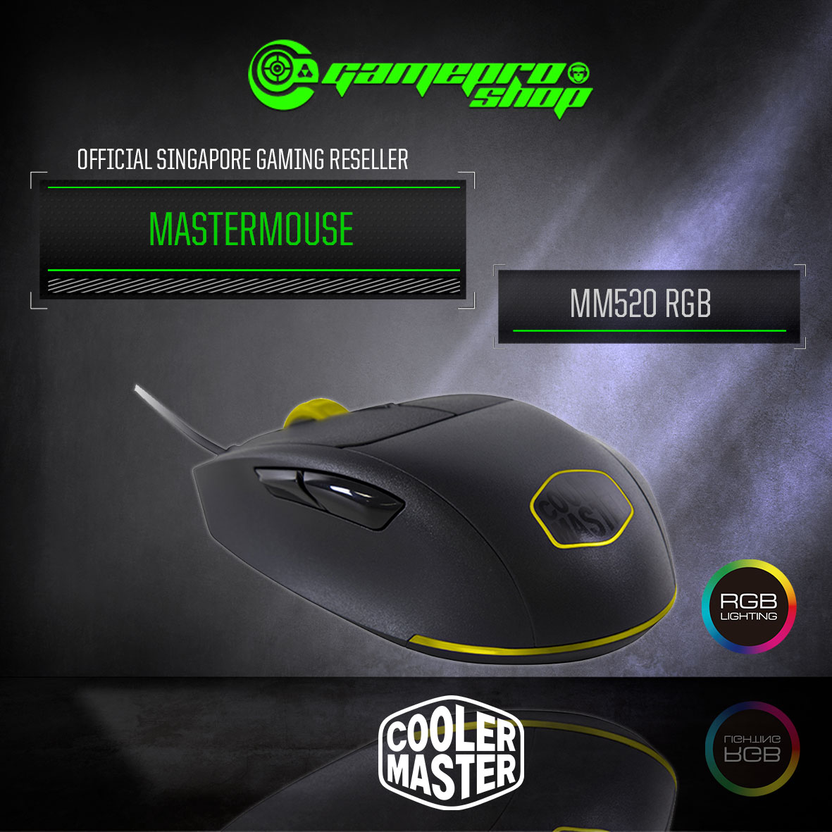 6f6ae7696b1 ... MouseCool Master MasterMouse MM520 RGB Gaming Mouse (SGM-2007-KLON1).  🔍. Gaming Mouse