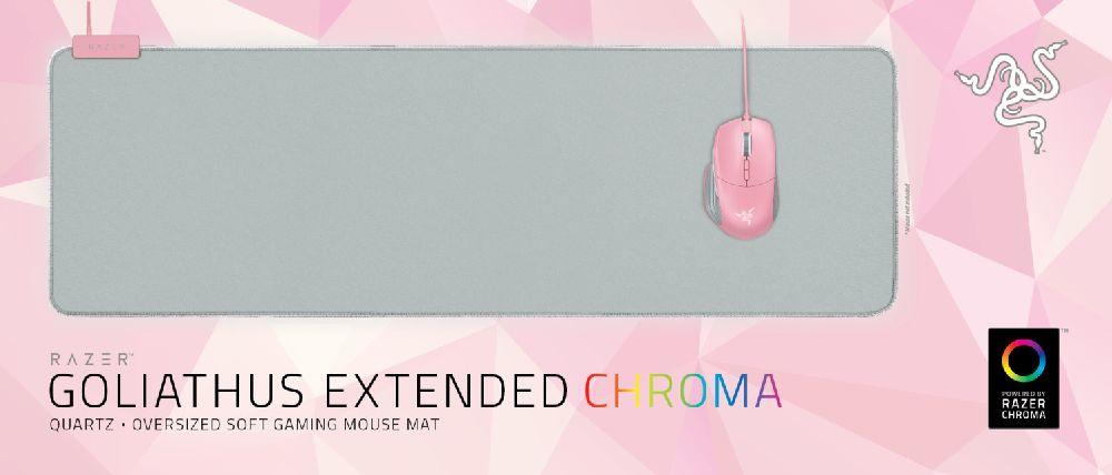 6b6ecd3d07d ... PadRazer Goliathus Extended Chroma Soft Gaming Mouse Mat – Quartz  Edition. 🔍. Mouse Pad