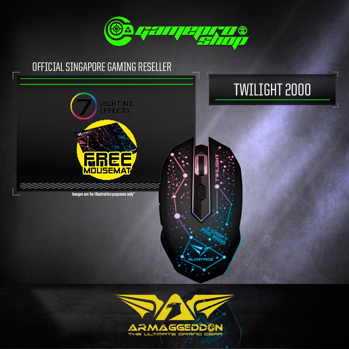 Armaggeddon X-Craft Pro Twilight 2000 Gaming Mouse