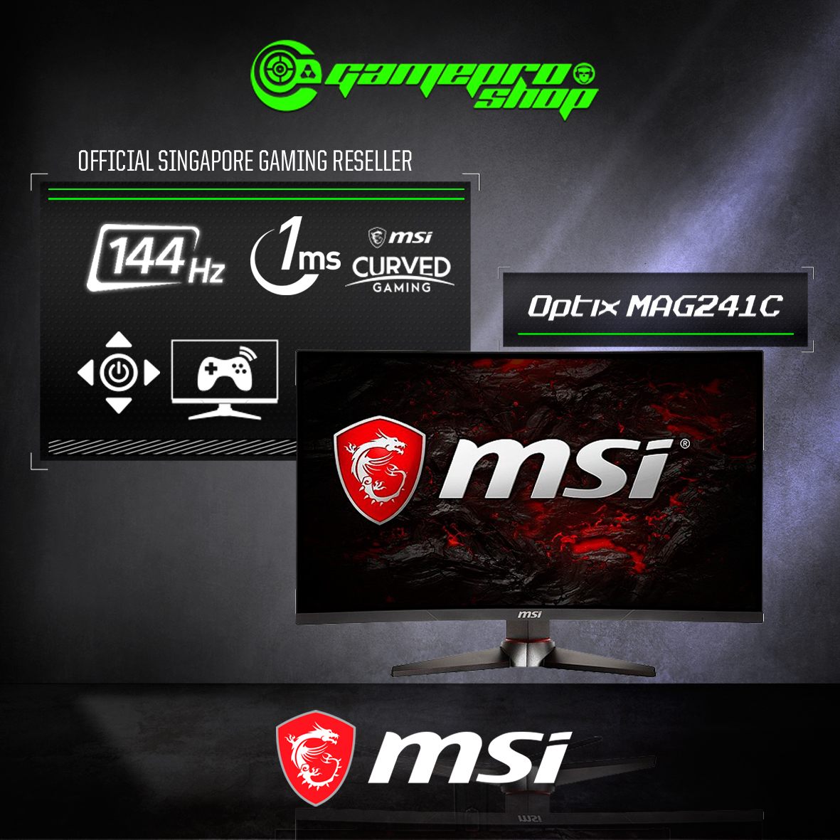 MSI Optix MAG241C 24