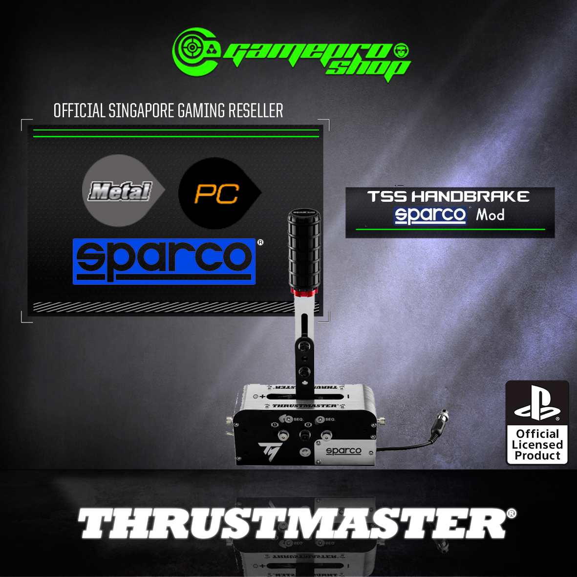 Thrustmaster TSS Handbrake Sparco Mod Plus For PC / PS3 / PS4 / Xbox One